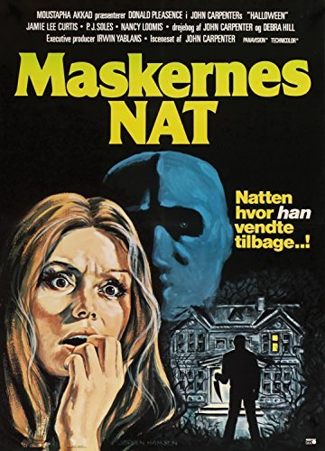 ie Poster European Art by The Gore Store (1978-halloween-movie-poster)