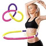 Kuyou Hula Hoop, Soft Spring Hula Hoop für Erwachsene, Fitness Hula Hoop Gewichtsverlust Fitness Hula Hoop für Bewegungstraining