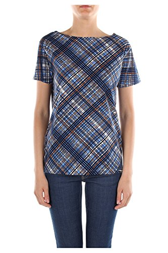 35722CELESTE Prada T-Shirt Damen Baumwolle Multicolor Multicolor