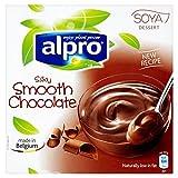 Alpro Soya Schokolade Dessert 4 X 125G - Packung mit 2