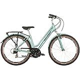 2016 Raleigh Pioneer Trail Womens Aluminium Hybrid Bike Celeste