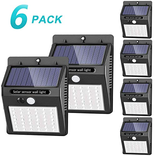 [42 LED / 3 Modos ] SEZAC Luces solares