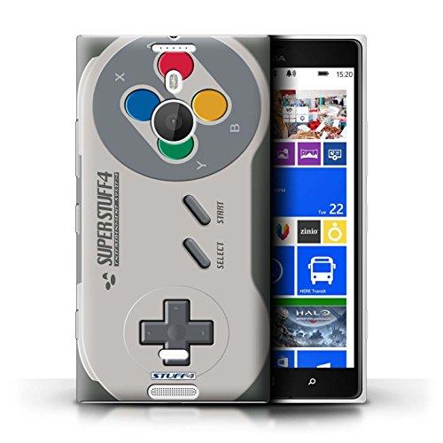 Stuff4 Hülle / Case für Nokia Lumia 1520 / Super Nintendo Muster / Spielkonsolen Kollektion