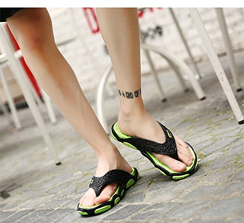 Scothen Sommer Sandale,Unisex Herren Jungen Garden Clogs Shoes Mens Garden Shoes Unisex Adult Sandals Slippers Slip strand Garten Pool Maultier EVA Holzschuhe Schuhe Summer Mountain Shoes Grün