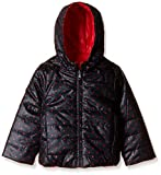 United Colors of Benetton Baby Girls' Jacket (16A2JACK0026I9020Y_Black and Red_0Y)
