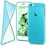 moex iPhone 6S | Hülle Silikon Transparent Türkis Clear Back-Cover TPU Schutzhülle Dünn Handyhülle für iPhone 6/6S Case Ultra-Slim Silikonhülle Rückseite