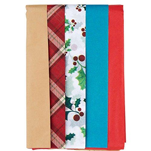 denpapier (Rotes Und Weißes Geschenkpapier)