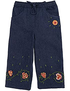 Mädchen Jeans, Mädchen Hose Beetlejuice Stickerei Jeans Jeans