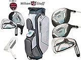 The Golf Store 4u Ltd Wilson Prostaff HDX - Juego completo de palos de golf para mujer, diseño de grafito
