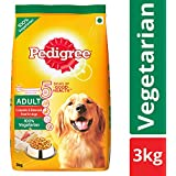 Pedigree Adult Dry Dog Food, Vegetarian – 3 kg Pack