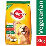 #10: Pedigree Dry Dog Food, Vegetarian for Adult Dogs – 3 kg
