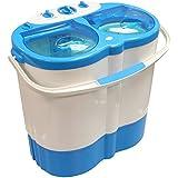 Camping-Wäscheschleuder / Mini-Waschmaschine, tragbar, Doppelwanne, kann als Trockner verwendet werden