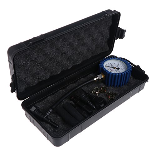 Pennyninis 1PC Motorrad Auto Kraftstoff Manometer Benzin Manometer Meter Tester Werkzeug Kraftstoff Meter