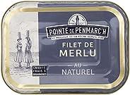 Filet de merlu au naturel Pointe de Penmarc'h le lot de 6 boîtes de 150 g - Livraison en 2 à 3 jours ouvré