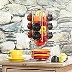 Cucina-di-Modena-caff-porta-capsule-13-pezzi-Torre-per-Dolce-Gusto-Dolce-Gusto-Porta-capsule