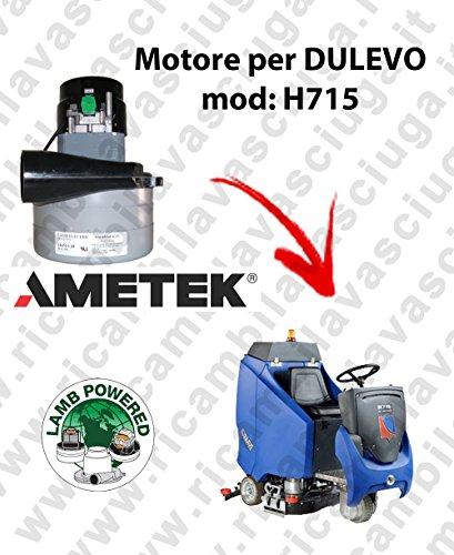 H715Motor Lamb Ametek Einlassventil für Bodenwischer Dulevo