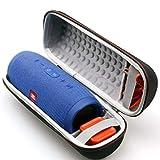 LTGEM EVA Étui Rigide Sac de Rangement de Voyage pour JBL Charge 3 Haut-Parleur sans Fil Bluetooth sans Fil. Compatible avec câble USB et Chargeur
