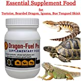 Pet Care International (PCI) Dragon-Fuel Pro, a Food Supplement for Tortoises, Iguana, Bearded Dragon, Blue Tongued Skink (150grm)