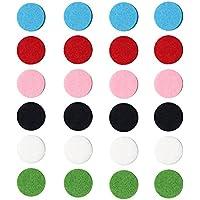JOVIVI Rund Aromatherapie Diffusor Locket Halskette Duftöldiffusoren Refill Pads für Ätherische Öle 6 Farben (24) preisvergleich bei billige-tabletten.eu