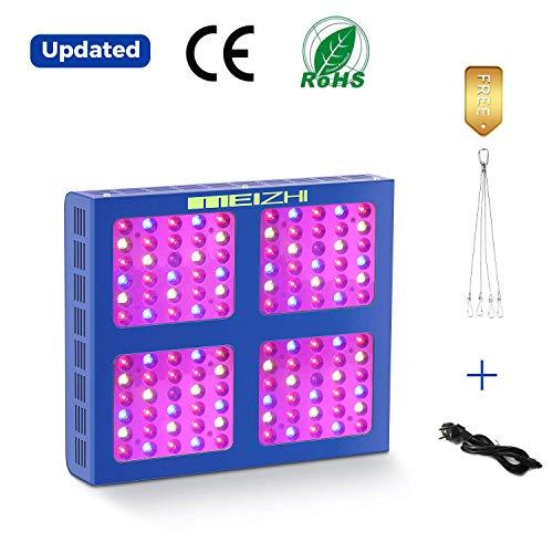 MEIZHI Pflanzenlampe 600W LED Grow Lampe Vollspektrum Pflanzenlichter für Zimmerpflanzen LED Grow Light Schaltbar Gemüse und Blüte Reflektor Serie