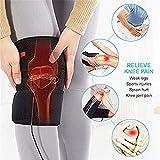 Elektrische Wärme Kniepolster Therapie Wrap, Knie Klammer Auflage für kalte Kompresse Knieverletzung Arthritis kalte heiße warme Therapie Schmerz Entlastungs Auflage