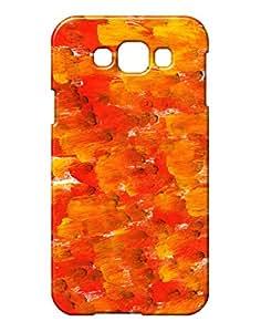 Pickpattern Back Coverfor Samsung E7