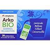 Arkopharma Arkobio Infusion Sommeil et Relaxation Bio 20 Sachets