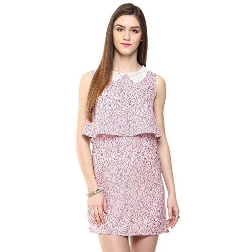 Honey by Pantaloons Women's Dress _Pink_S
