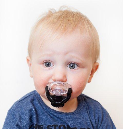Spitzbart Schnurrbart Kostüm - Chill Baby Spitzbart/Ziegenbart Schnuller