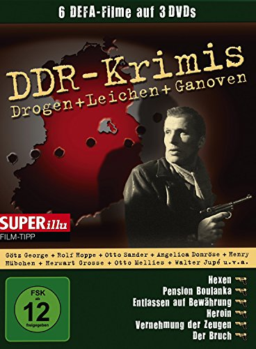 DDR - Krimis                                 6 Filme auf 3 DVD