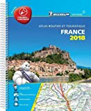 Atlas routier France plastifié Michelin 2018...