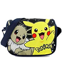 Unisex Cosplay Totoro / Pikachu Single Shoulder Canvas Bag Cartoon Bag for Student (Pokemon???#2???)
