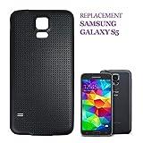 swark batería Tapa Tapa Trasera para Samsung Galaxy S5G900F, Color Negro