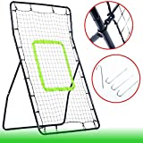 Rebounder Football Net Soccer Training Playback Angle Ball Goal Skill Game For Outdoor
