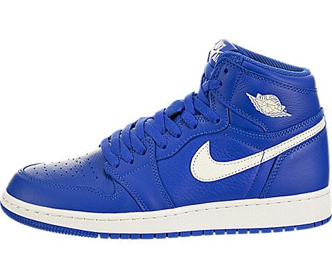 Jordan Nike Kids Air 1 Retro High OG GS Hyper Royal/Sail Hyper Royal Basketball Shoe 5 Kids US - Kids Schuhe Jordan 5