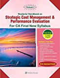 Students Handbook on Strategic Cost Management & Performance Evaluation: For CA Final New Syllabus