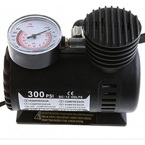 yuver (TM) nuovo 12V auto elettrica 300PSI Compressore d' aria Tire Inflator pompa Lucky