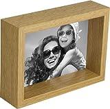 BD ART 10 x 15 cm Box Marco de Fotos, Roble