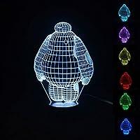 Descrizione:  Avete alla ricerca di una lampada creativa è per le luci decorative della casa, camera da letto luci decorative, la luce di notte del bambino, anche per un amico o un regalo di un bambino?  Non sei sicuro di cosa prendere qualcuno che h...
