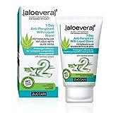 Zuccari [aloevera]²–crema deodorante con cristallo di allume, 7 giorni, confezione da 1 (1x 30ml)