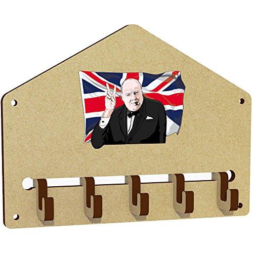 Winston Schlüssel ('Winston Churchill' An der Wand befestigter Schlüsselhaken / Halter (WH00032173))