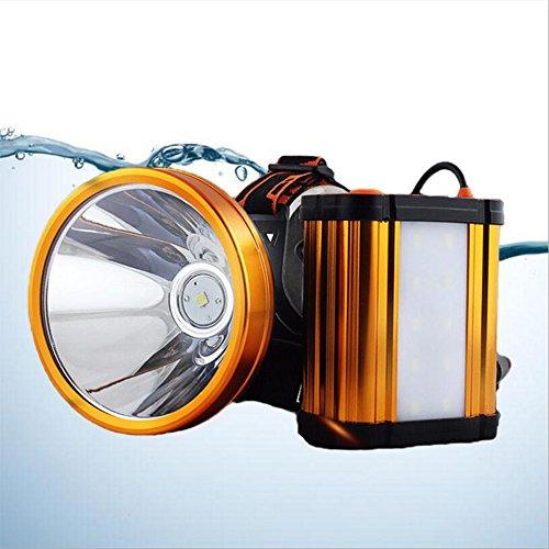 OOFAY Headlamp@ LED Stirnlampe Wiederaufladbare Super Helle Kopflampe Helle Lichter Wasserdichter Stirnlampe 3 Helligkeits-Modi Perfekt Zum Campen Zum Wandern/Große Kapazität Batterie