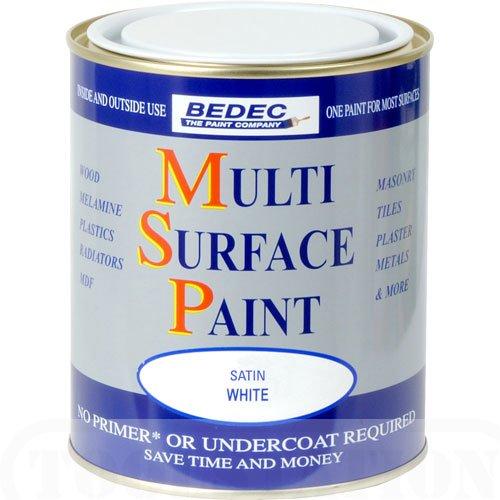bedec-multi-surface-paint-satin-white-750ml