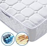 Vesgantti 5FT UK King Size Pocket Sprung and Memory Foam Mattress with Ergonomic Design Sleeping Zone - More Sizes Available: 3FT Single / 4FT Small Double / 4FT6 Double