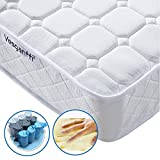 Vesgantti 4FT6 Doule Pocket Sprung and Memory Foam Mattress / with Ergonomic Design Sleeping Zone - More Sizes Available: 3FT Single / 4FT Small Double / 5FT UK King Size