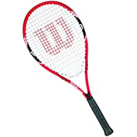 Wilson Federer W/O Cvr 3 Racchetta da Tennis, Rosso/Bianco/Nero, 3