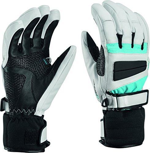 leki-griffin-pro-s-lady-gants-de-ski-white-blue