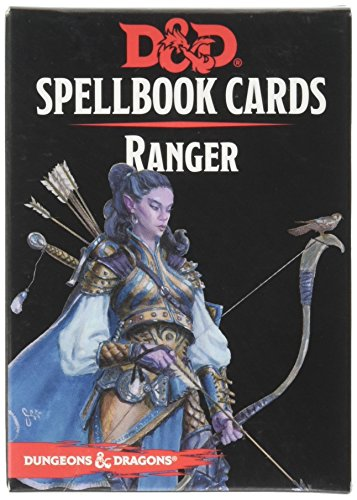 Gale Force Nine GF973920 Brettspiel Dungeons und Dragons: Ranger Spellbook Cards