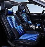Coprisedili per auto adatti per Chevy Impala Malibu Nissan Altima Murano Hyundai Sonata Vw Jetta Passat,Blu