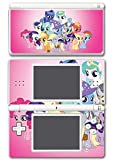 My Little Pony Friendship is Magic MLP Friends Cutie Marks Video Game Vinyl Decal Skin Sticker Cover for Nintendo DS Lite System by Vinyl Skin Designs